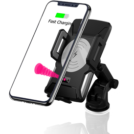 technology products qi charging station car charger for smart phone