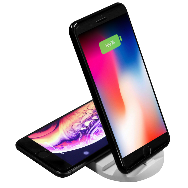 UV005 5w wireless charger with wire charger